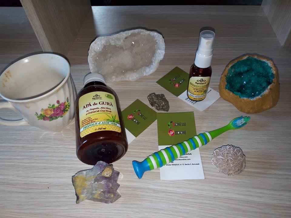 Două produse de la Apidava pentru pentru sănătatea orală