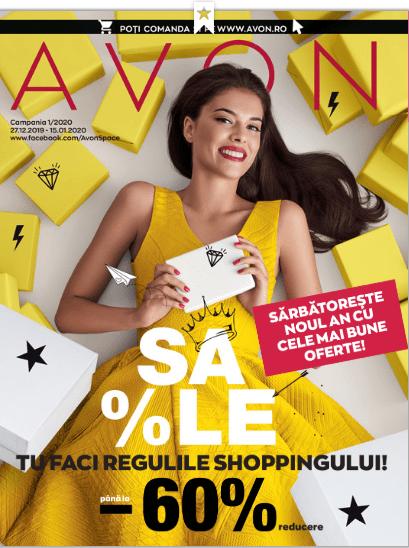 Noutățile campaniei 1 din Avon România