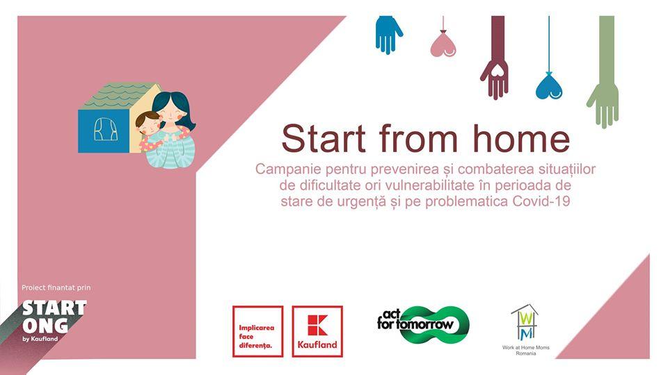Start from home- noul proiect WAHM România