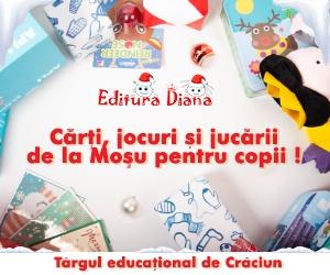 Târgul educaţional de Crăciun de la Editura Diana