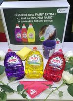 Am testat 3 arome din noua gamă de detergenți de vase Feiry Extra+