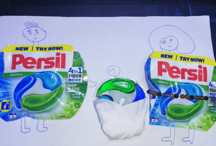 Testare Persil- Sau cum NU m-am chinuit să murdăresc intenționat haine