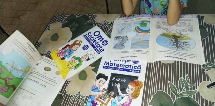 RECENZIE-Set caiete speciale pentru grădiniță, grupa mare de la Editura DIANA